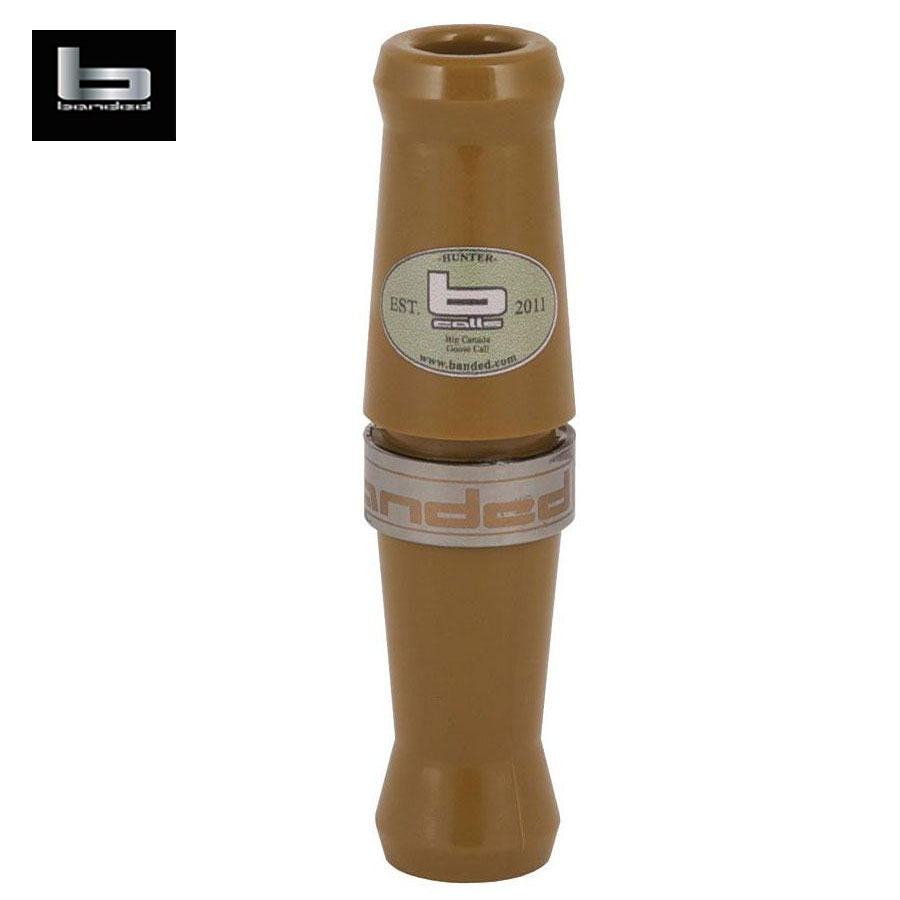Banded Gear Big Goose Call Tan Delrin