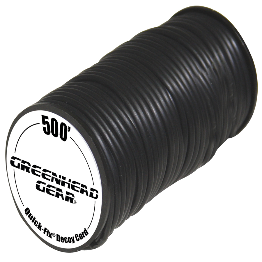 Avery GHG Quick-Fix Decoy Cord 500' - Black thumbnail