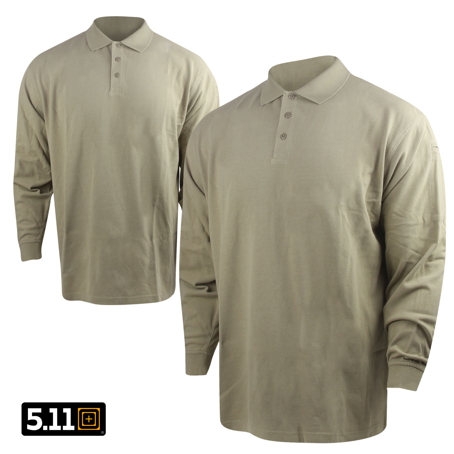 511 Tactical Professional Long Sleeve Polo 3X Silver Tan