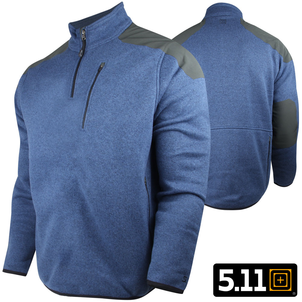 511 Tactical 14 Zip Sweater S Regatta