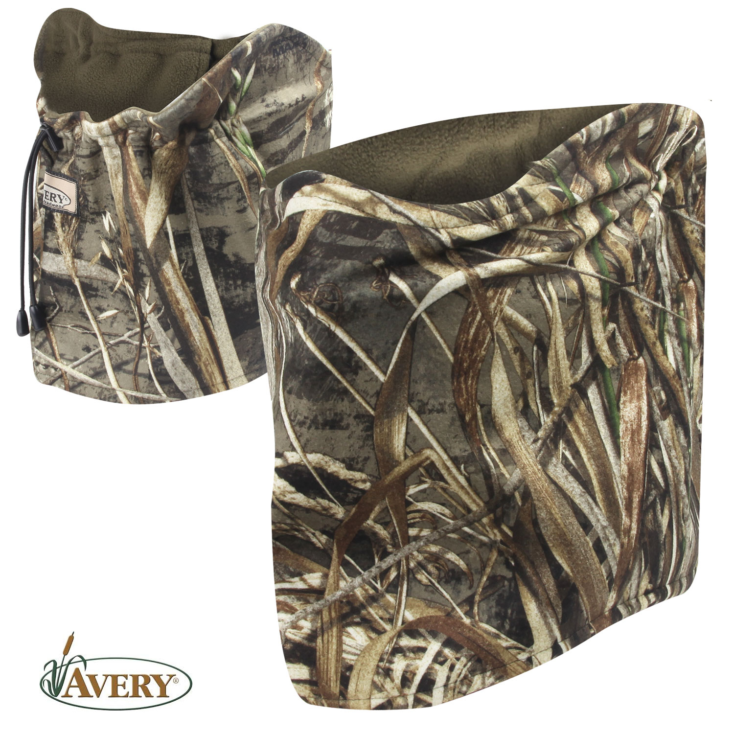 Avery Outdoors Fleece Neck Gaiter RTMX 5