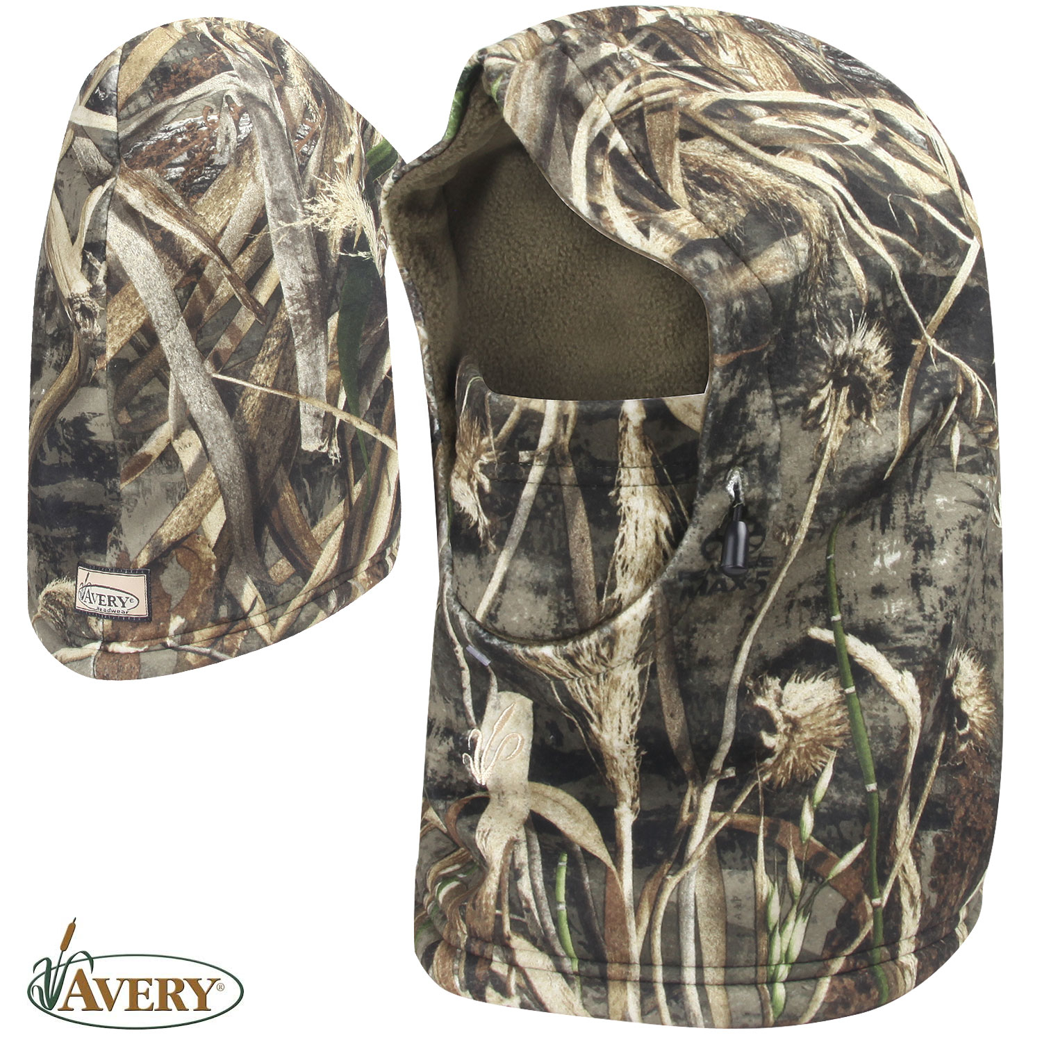 Avery Outdoors Fleece Yukon Hood RTMX 5