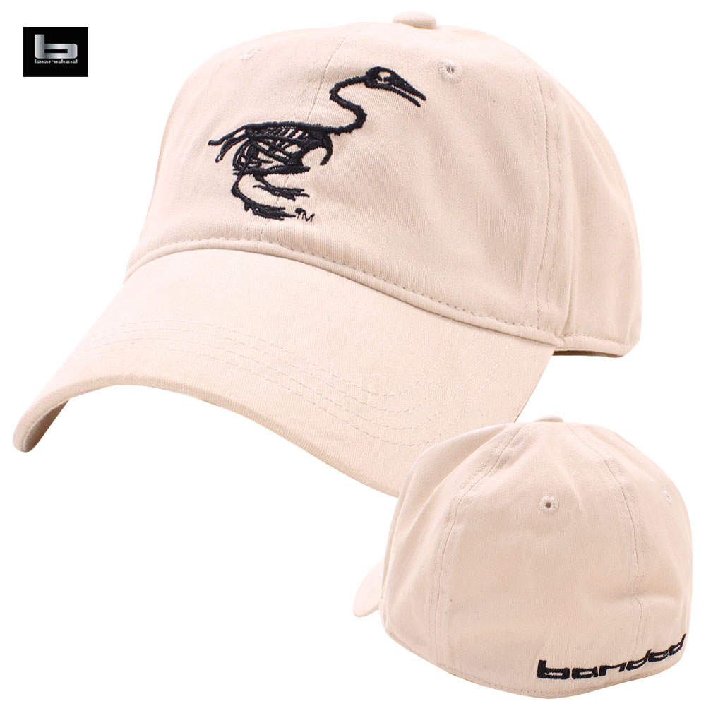 Banded Gear Fitted Skull Logo Cap Stone