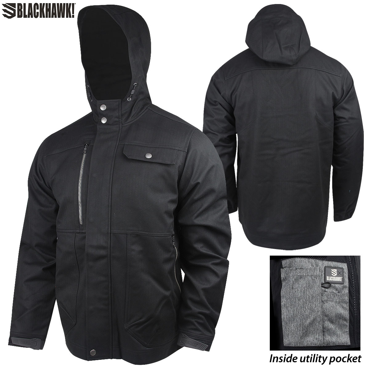 Blackhawk Derecho Soft Shell Jacket XL Black