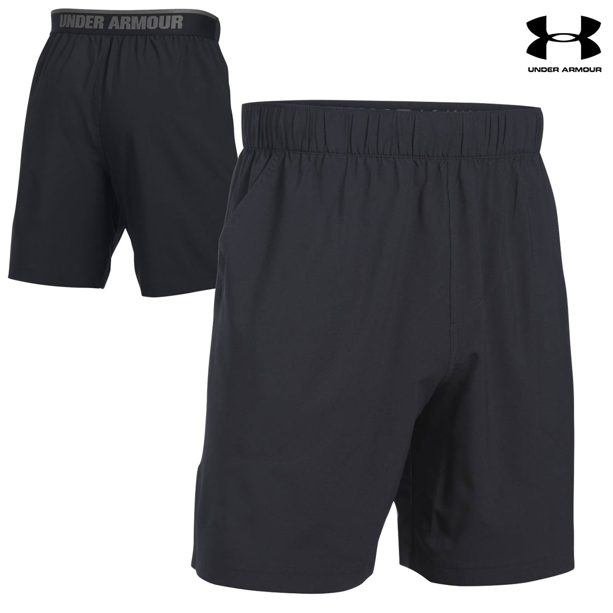 Under Armour Coastal Shorts (M)- Black