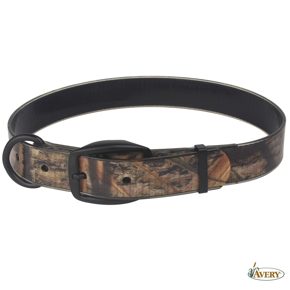 Avery Coated Dog Collar L MOSG