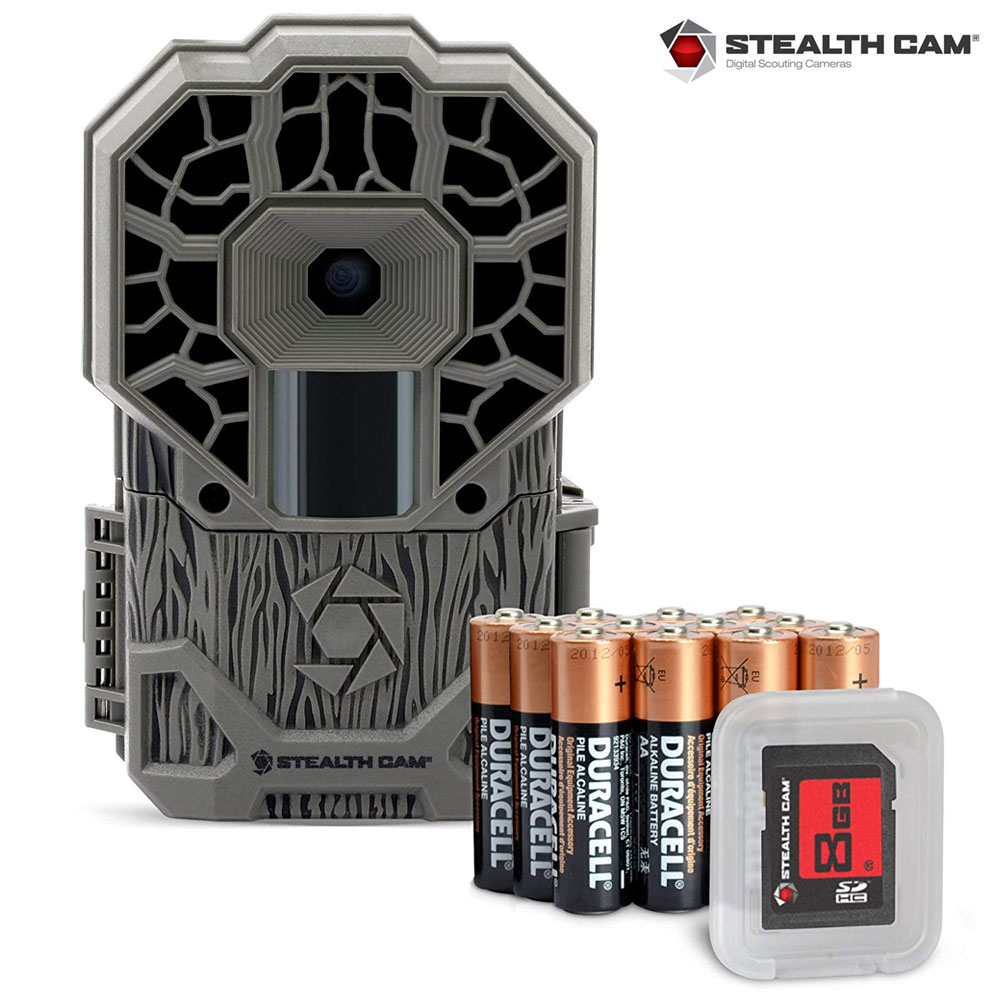 StealthCam G26NGX Triad X Pro Series 12 MP Trail Camera w/Batteries &