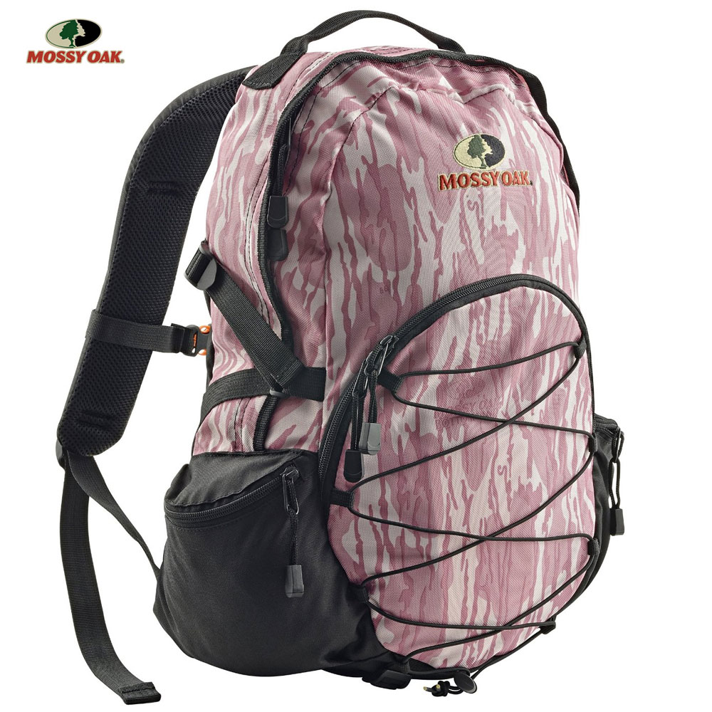 "A great day pack for hunting, hiking, camping, or everyday use. With multiple zip pockets, compression straps, padded shoulder straps, and multiple pocket organizers, this pack has everything you need to enjoy a day outdoors. Features: Large Divided Pockets Compression Straps Hunt Safe Whistle Multiple Zip Pockets Large Main Compartment Dimensions: 17""x15""x7"""