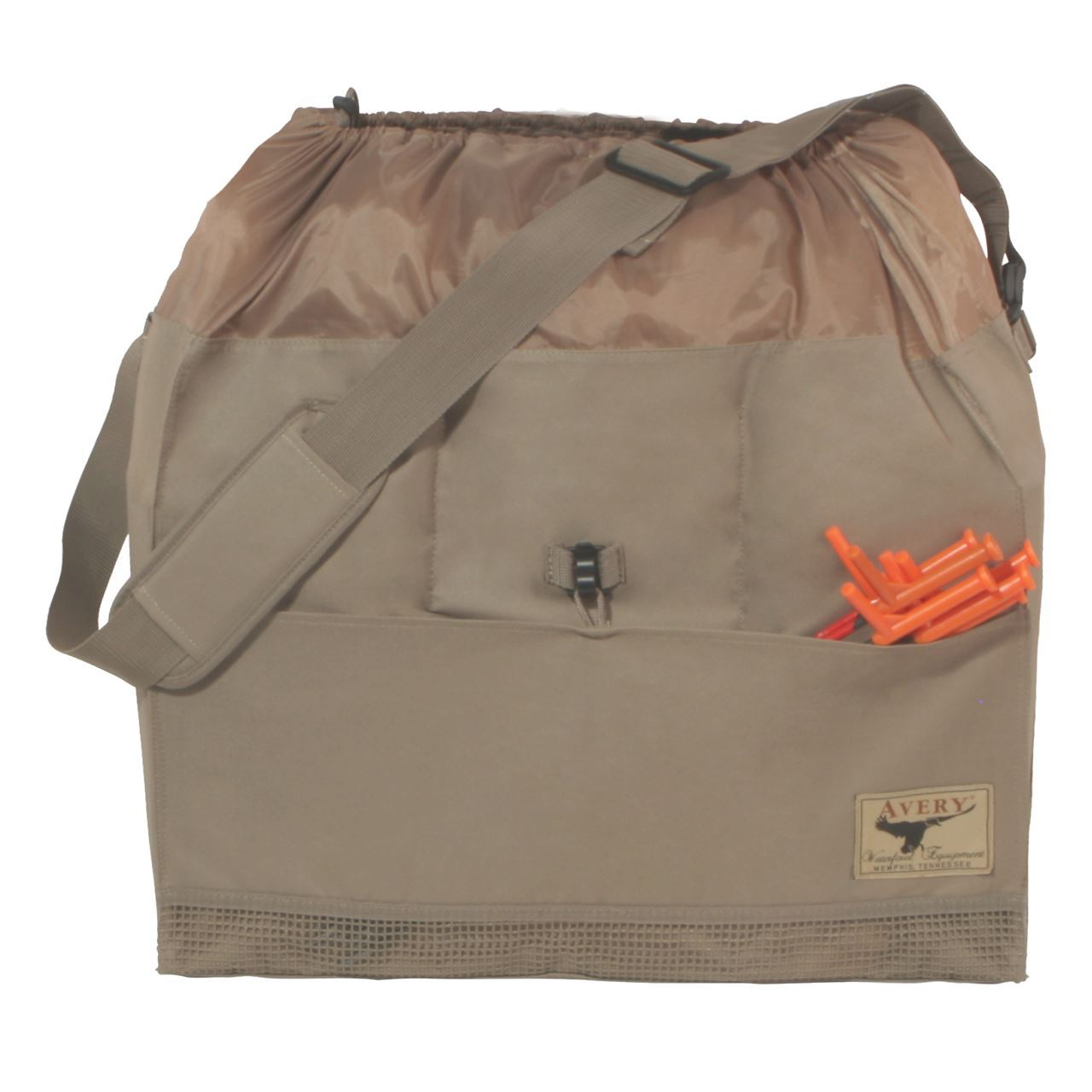 Avery Outdoors 6-Slot Mid-Size Full Body Goose Bag – Khaki