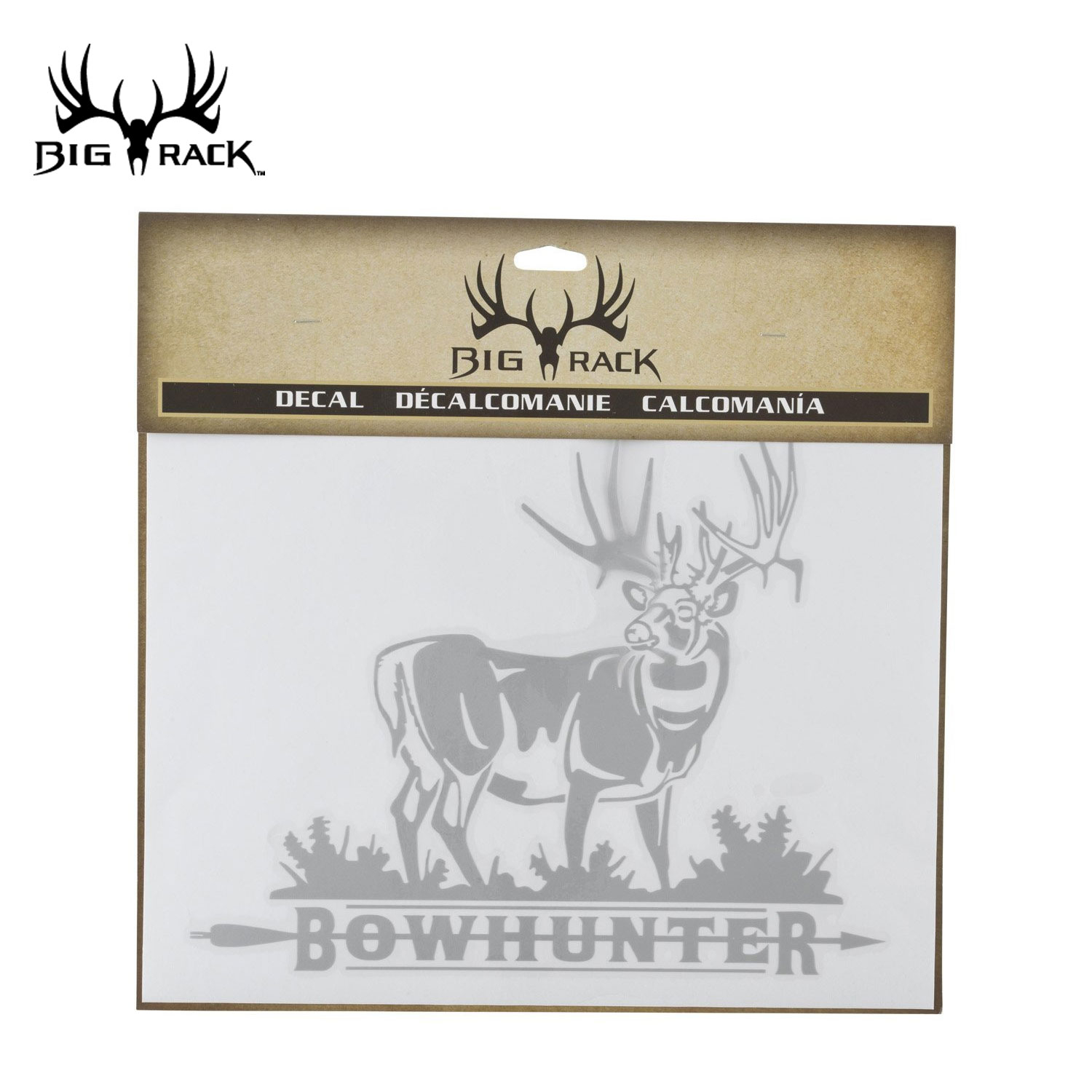 Big Rack Bowhunter Whitetail Decal
