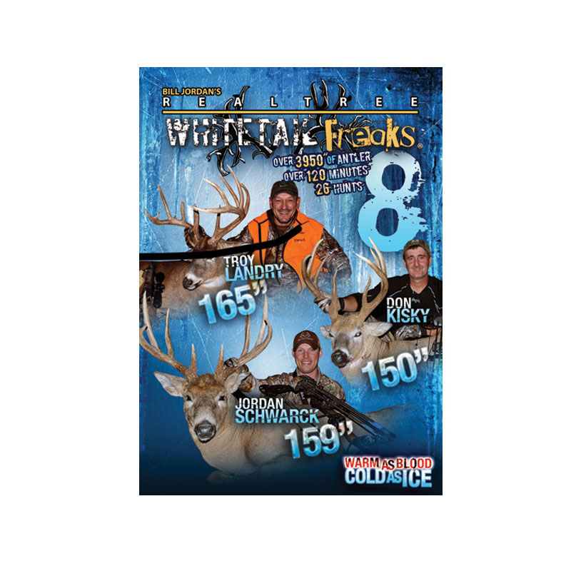 Whitetail Freaks 8 DVD