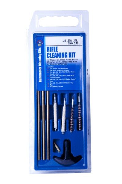 Gunmaster .22-.280 cal 13-pc Rifle Cleaning Kit