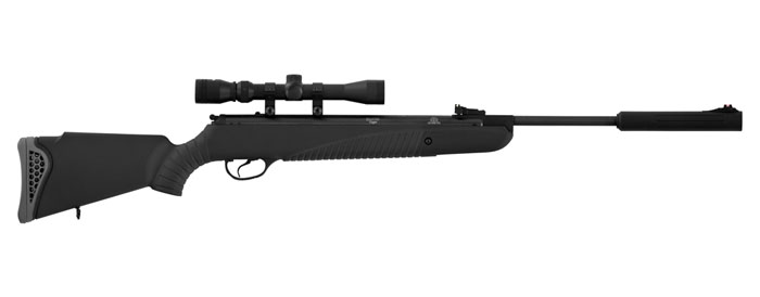 Hatsan 85 Sniper Vortex Air Rifle Combo (.25cal) - Black