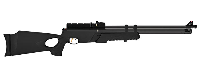 Hatsan AT4410 Pump LONG PCP Rifle (.177cal) - Blk Syn