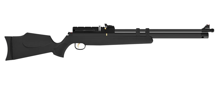 Hatsan AT44S10 LONG PCP Rifle (.22cal) - Black
