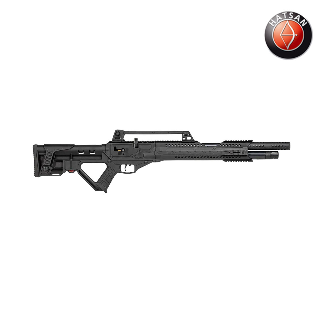 Hatsan Invader Auto PCP Air Rifle (.25 cal)- Adv Poly/Tactical Stock