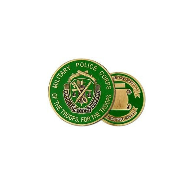 HMC Honors Challenge Coin - Military Police (MP)
