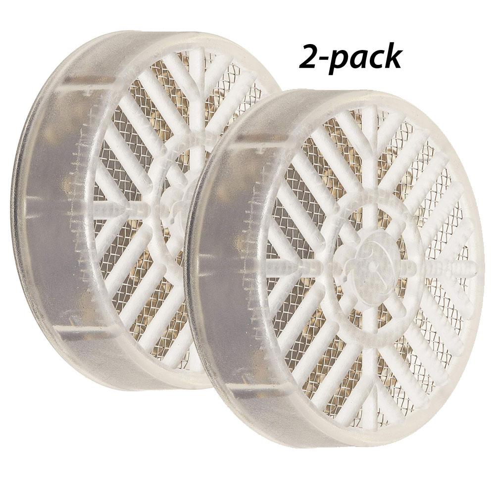 2 PACK Cigar Caddy Crystal Gel Round Humidifiers 2 PK
