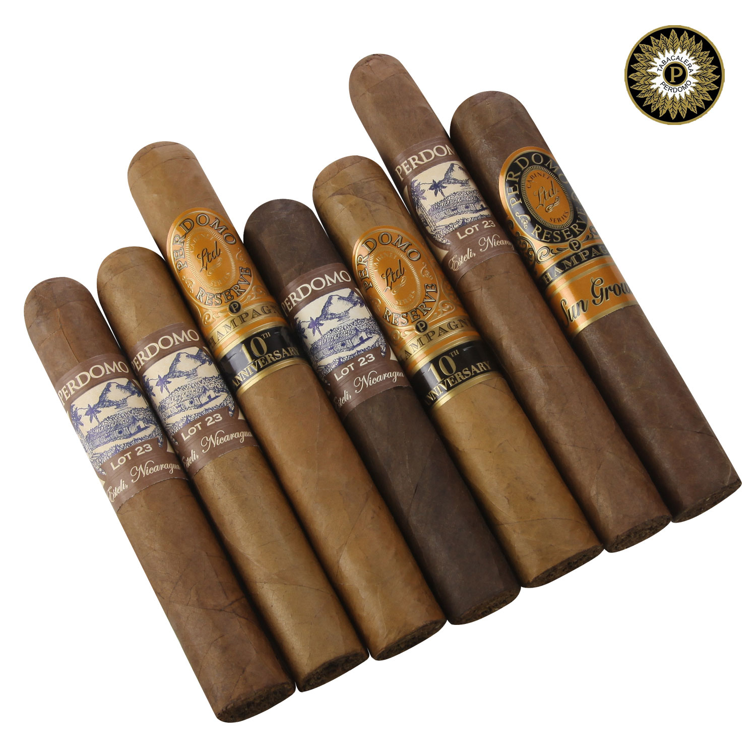 Best of Perdomo Ultimate 7 Cigar Collection